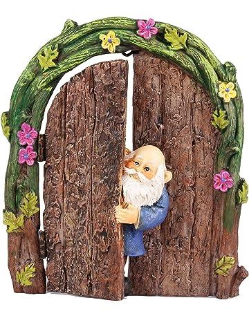 10x Miniature Dollhouse Bonsai Fairy Garden Landscape Steamboat Decor Size L