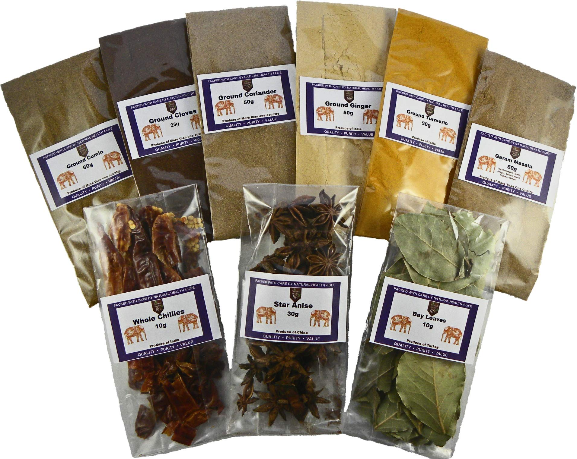 Authentic Indian Spice Gift Set Curry Spice KIT - Makes UP to 24 CURRIES - Quality Spices with Free Post 2