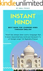 Instant Hindi: Best book for learning Hindi through English