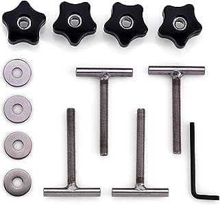 SafetySell24 T5 / T6 Ladungssicherung 70mm T-Schraube für Spanngurt Multiflexboard