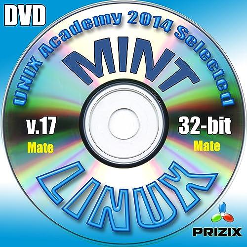 Mint Mate 17 Linux DVD 32-bit installazione completa comprende gratuito Esame UNIX Accademia di valutazione