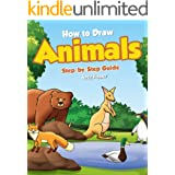 How to Draw Animals Step-by-Step Guide: Best Animal Drawing Book for You and Your Kid