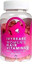 IvyBears | Haar Vitamine Frauen | Biotin Folsäure Vitamin C | Vegan - Frei von Titandioxid | Nahrungsergänzungsmittel |...