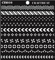 "Craftreat Washi Tape Stencil 6""X6"""