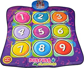 Zippy Mat Dance Challenge Play mat, Multi Color