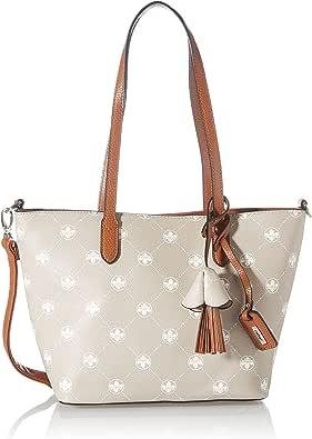 Rieker Damen H1007 Handtasche, Beige, 370x110x225