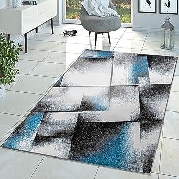 Tt Design Designer Teppich Wohnzimmer Modern Kurzflor Teppich