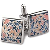 Peluche Multicolour Enamel Cufflinks for Men