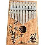 Rayzm Kalimba/Piano à Pouce/Piano tactile avec Accessoires, Instrument Portable Marimba à 17 Touches pour Amateurs de Musique