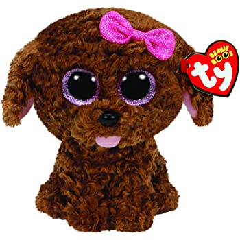 84bd5e8ee2b TY Beanie Boo Plush - Tracey the Dog 15cm  Amazon.co.uk  Toys   Games