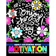 Motivation- Colouring Book for Adults
