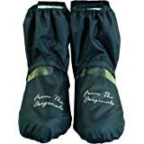 SHOERELLA Waterproof Rain/Snow Over Shoe Cover with Pouch/Shoe bag for Daily Wear Shoes for Mens/Womens - Sneakers…
