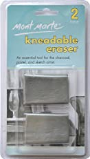 Mont Marte Kneadable Erasers Clamshell MAXX0004-Set of 2 pieces