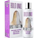 Shampoo Antigiallo Per Capelli Biond - Tonalizzante Capelli - Silver Shampoo Per Toni Violacei - Rivitalizza i Capelli Biondi