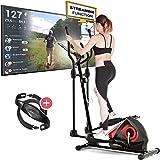 Sportstech CX608 Crosstrainer pour maison | Événements vidéo & application multijoueur & console Bluetooth | Vélo d…