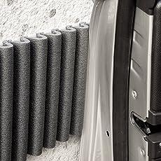 G2C Mondaplen-Wand-Stoßfänger: Selbst Klebende Schaumstoff-Schutzstreifen: Garagenwand schutz, Tuerschutz Auto, Kantenschutz. Jedes Paket Enthält 2 Streifen ≈ 1.35 m x 17 cm.