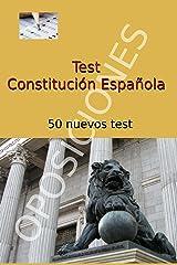Test de Constitución Española: 50 nuevos test Versión Kindle
