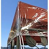 QUICK STAR Paviljoen beschermkap 3x4 m waterdicht transparant