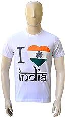 2GO I Love India Round Neck T-Shirt STS-01
