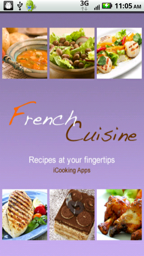 Icooking french cuisine appstore per android for All about french cuisine