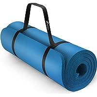 TRESKO Tapis d'exercice Fitness Tapis de Yoga Tapis de Pilates Tapis de Gymnastique, Dimensions 185 x 60 x 1,5 cm ou et…