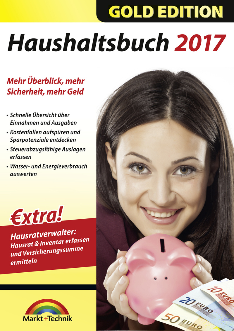 Haushaltsbuch 2017 Gold [Download]