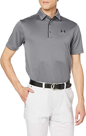 Under Armour Men's Tech Lightweight and Breathable Polo T Shirt for Men, Comfortable Short Sleeve Polo Shirt