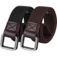 ZORO Cotton D ring buckle belt for men, Gifting solution, Leather free, light weight