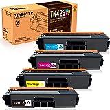Starover TN423 TN421 Cartuchos de Tóner Compatibles para Brother TN-423 TN-421 Cartuchos de Tóner para Brother HL-L8260CDW HL