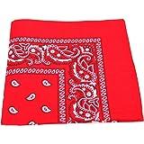 Unbekannt Bandana Kopftuch Halstuch Nickituch Biker Tuch Motorad Tuch verschied. Farben Paisley Muster