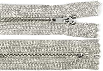 5 Stück Spiralreißverschluss, nicht teilbar, 3mm Laufschiene Reißverschluss