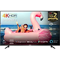 TCL 43BP615 (108cm) LED Fernseher 43 Zoll Smart TV (4K Ultra HD, HDR 10, Triple Tuner, Android TV, Micro Dimming PRO…