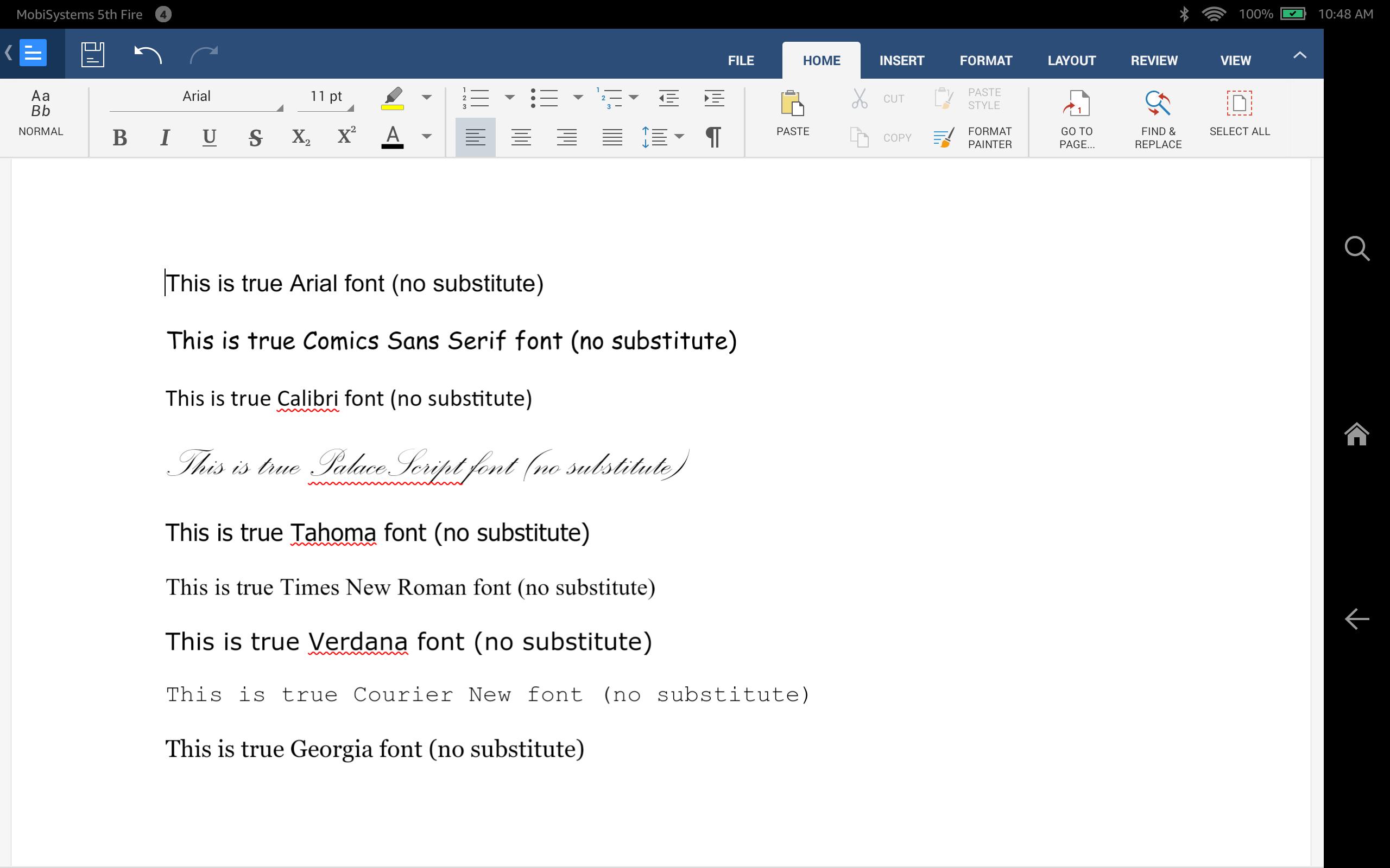 Download OfficeSuite Font Pack: Amazon.de: Apps für Android