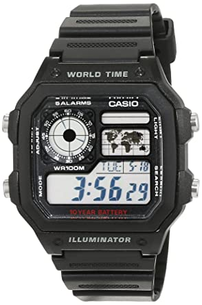 casio collection men s watch ae 1200wh 1avef amazon co uk watches casio collection men s watch ae 1200wh 1avef