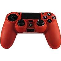 LUPO Rosso PS4 Silicone Controllore Impugnatura Copertura Della Pelle