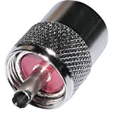 AERZETIX: Conector Enchufe UHF PL-259 para Cable RG58 Twist-on