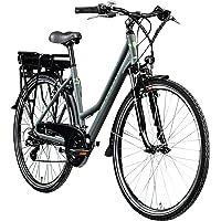 Zündapp E Bike 700c Trekkingrad Damen Pedelec Z802 Elektrofahrrad 21 Gänge 28 Zoll Rad