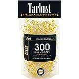 Tarbust Engångs cigarettfilter, bulkekonomi-pack, 300 filter, anti-tjär-filterspetsar