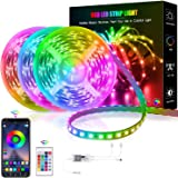 Smart LED Strip Lights Color Changing RGB Wifi APP Remote Control Rope Light Work with Alexa Google Waterproof Sync with Musi