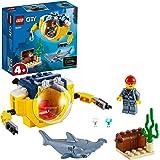 LEGO City Oceaan Mini-Duikboot 60263 speelset, cool speelgoed voor kinderen (41 onderdelen)