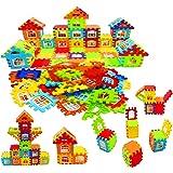 JVM Building Blocks for Kids , Big Size House Building Blocks with Windows, Block Game for Kids,Boys,Children (72 Pcs Blocks)