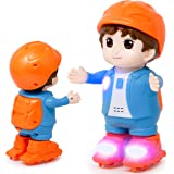 Zest 4 Toyz Cute Musical Dancing Pulley Boy with Flashing Lights and Music | Dancing Boy Musical Toys for Boys , Musical…