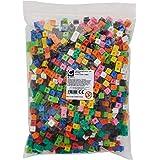 EDX Education 53909 Interlocking Cube, 1 cm (Pack of 1000)