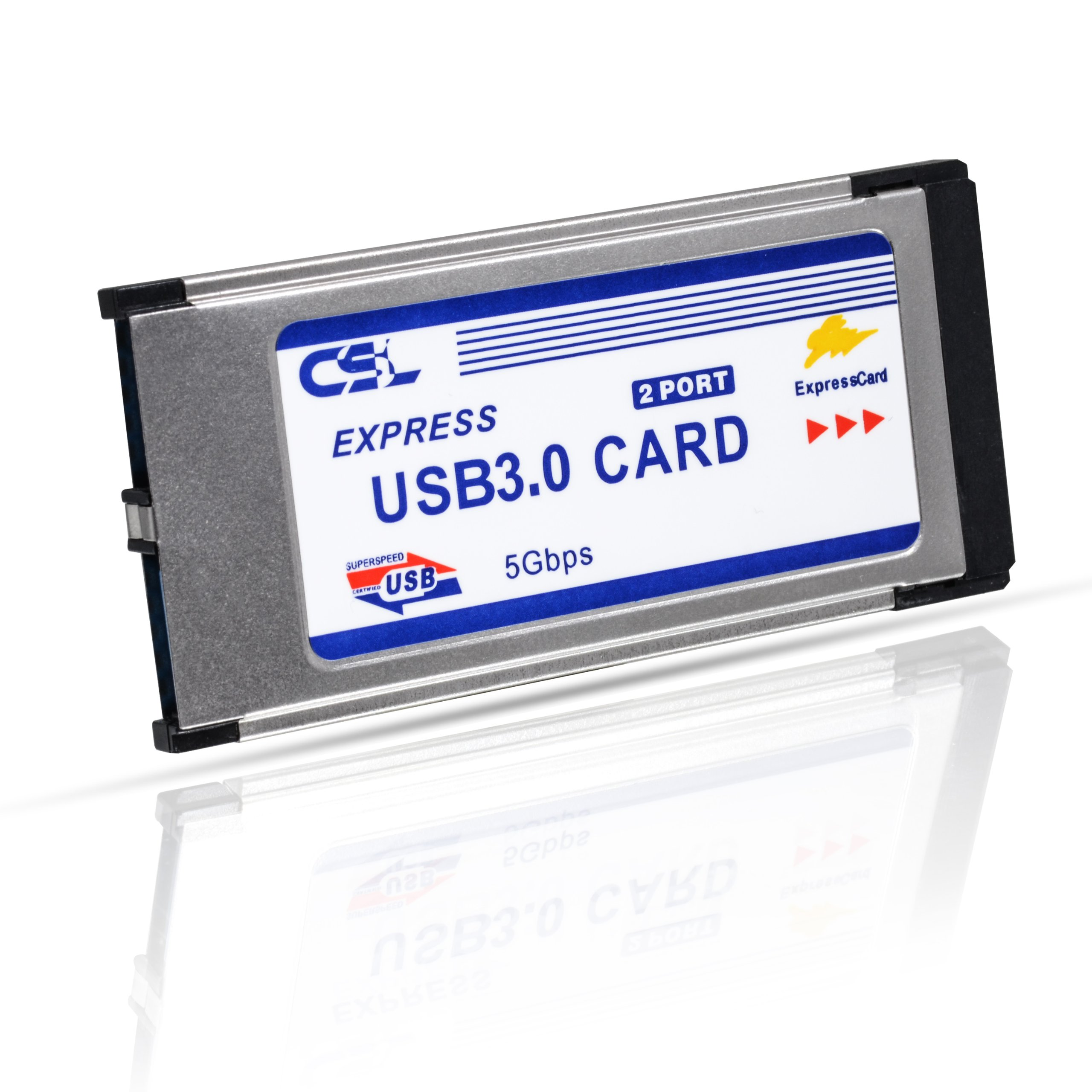 Csl usb 3 0 super speed pcmcia express card 34mm 2 - Is usb 3 0 compatible with a usb 2 0 port ...