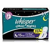 Whisper Maxi Overnight XL Sanitary pads for women