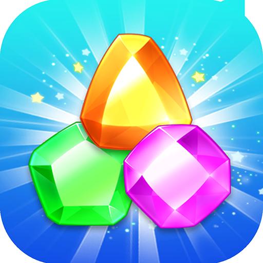 Jewel Blast Mania - Verbinde 3 Juwelen und Edelsteine, um Juwelen aus Juwelen zusammen zu bringen, die Spaß machen! (Klassiker Juwelen)