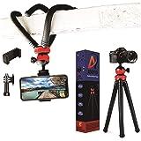 Adofys Camera Flexible Tripod, Cell Phone Tripod 12 Inch Gorilla Tripod Lightweight Bendable Tripod with Heavy Duty…