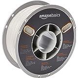 AmazonBasics Premium PLA 3D Printer Filament, 1.75mm, White, 1 kg Spool