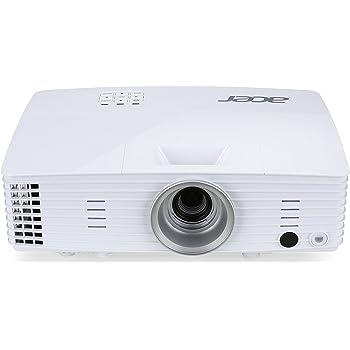 Acer H6502BD Proiettore, Risoluzione 1080P, Connessione HDMI, VGA/MHL, DLP 3D, Luminosità 3.500 ANSI, Contrasto10.000:1, Lamp Life 3.500 h, Speaker Integrati, Bianco