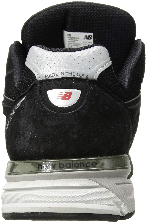 81dlZ 0rCGL - New Balance Mens M990 990v4 Black Size: 7.5 Wide